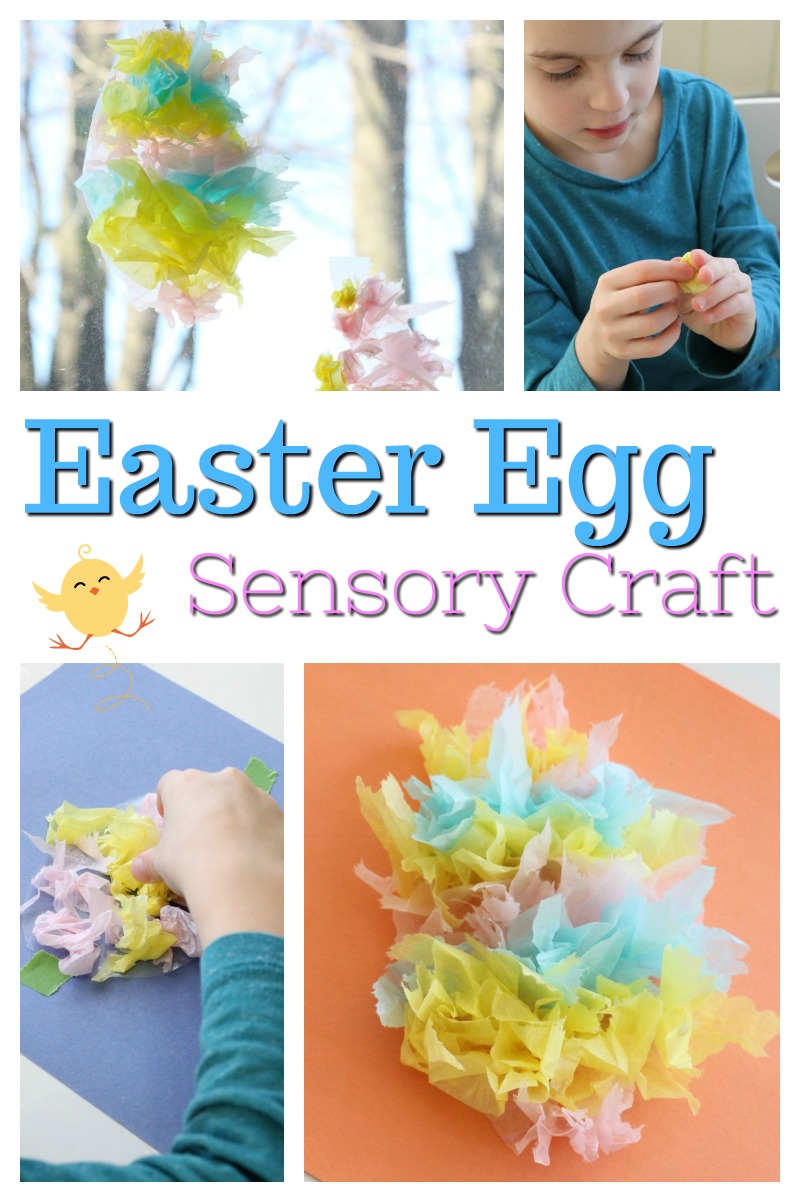 A cute Easter egg craft for preschoolers and kids of all ages. Great mess-free sensory play too. Love Easter Crafts for kids. #howweelearn #eastercrafts #easteregg #sensoryplay #artsandcraftsforkids #artprojects #craftsforkids #kidcrafts