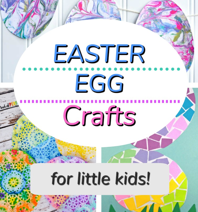 Easter Egg Crafts From Paper How Wee Learn