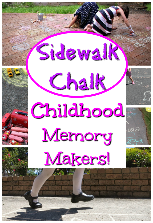 Awesome Sidewalk Chalk Games for kids to play this summer! Time to bring back the classic childhood activities. These are great games that only use sidewalk chalk with no prep, no set up, just simple and easy fun for kids! #howweelearn #sidewalkchalk #chalk #chalkgames #summergames #summeractivities #getoutside #childhood #childhoodfun #kidsactivities #activitiesforkids #gamesforkids #outdoorfun #childhoodunplugged #preschoolactivities