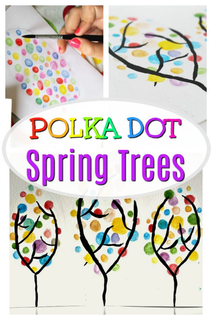 Colorful Spring Art Project For Kids How Wee Learn