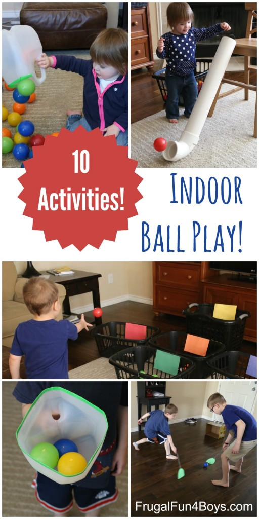 These are all fun and simple gross motor ball games for toddlers, preschoolers and kids of all ages. #howweelearn #grossmotor #kidsgames #kidsactivities #preschoolactivities #toddleractivities