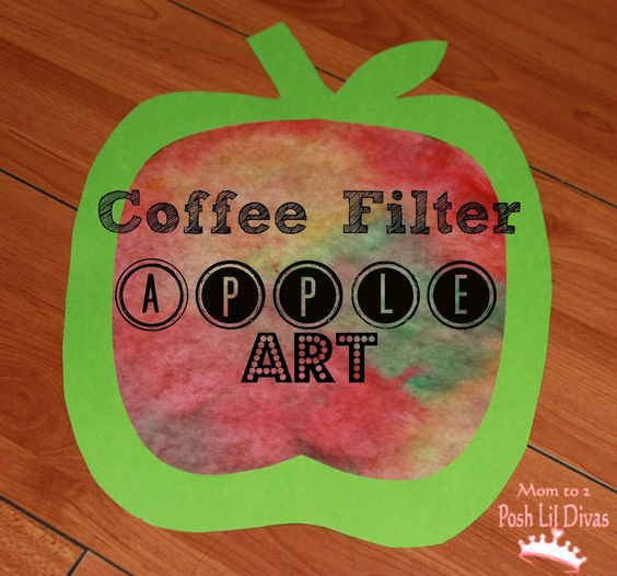 Create a beautiful effect with items you have at home to make this easy fall apple craft. Here you will find cute and simple apple crafts for kids, toddlers and preschoolers. #applecraft #fallcrafts #fallcraftsforkids #autumncrafts #preschoolcrafts #howweelearn