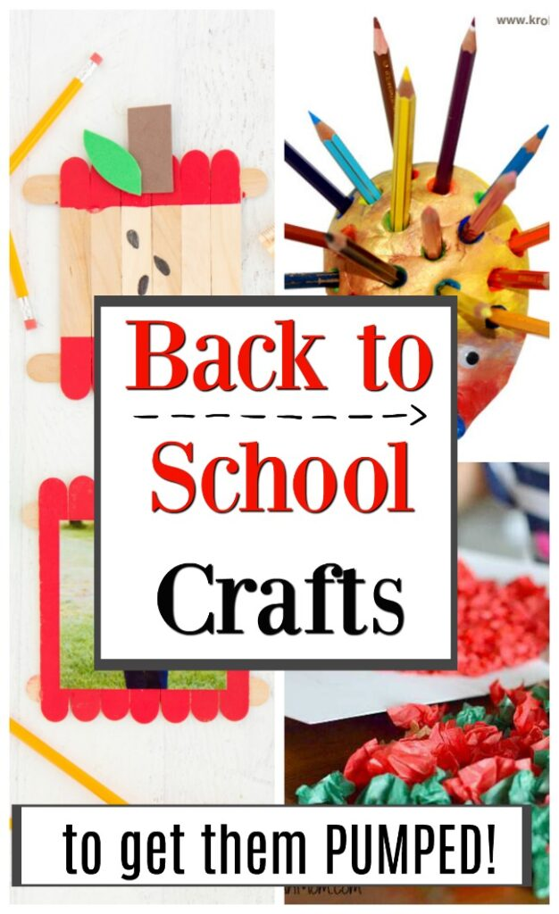 Back to School Crafts - How Wee Learn