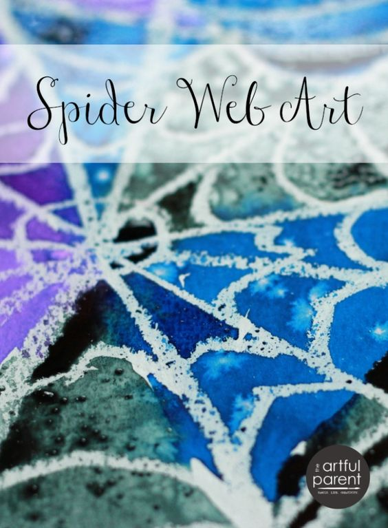 This spider web Halloween craft is rich in arts and science learning while bringing beauty to your home! Here you'll find a variety of easy Halloween crafts for your kids, toddlers and preschoolers. #Howweelearn #Halloweencrafts #Craftsforkids