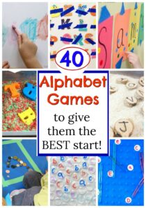 These are the BEST alphabet activities for kids! Such fun ways to teach the letters and sounds to preschoolers. #howweelearn #alphabetactivities #abc #letters #preschoolactivities