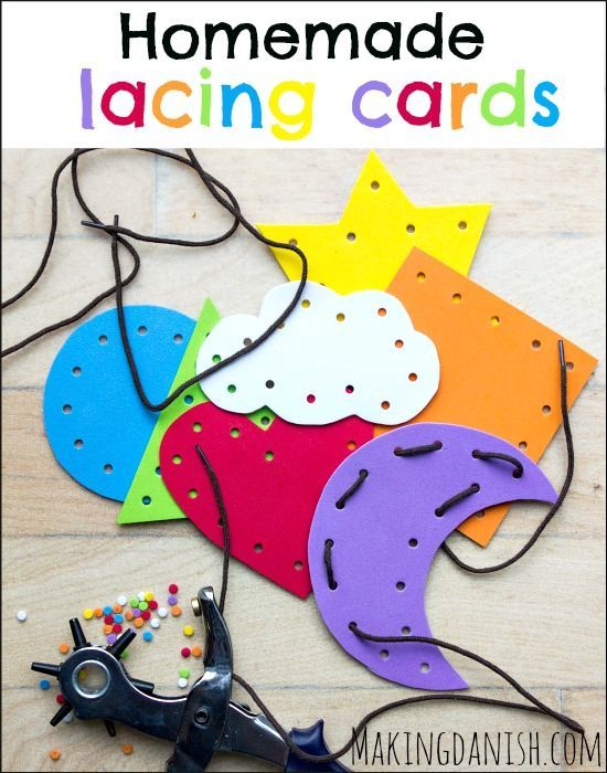 Lacing strengthens fine motor skills and increases focus. You can find more stellar busy bags for babies, toddlers, preschoolers and kids by clicking here! #howweelearn #busybags #quiettime #finemotor #preschoolactivities #kidsactivities