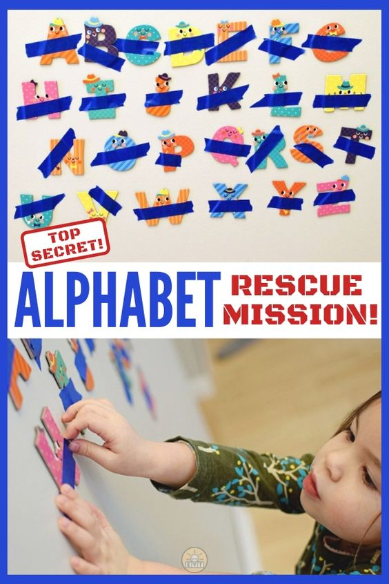 Add imaginative pretend play to your letter learning with this exciting alphabet rescue mission! Keep learning fresh and exciting with this awesome collection of letter activities for preschool! #howweelearn #abc #alphabet #alphabetactivities #letters #lettersounds #preschool