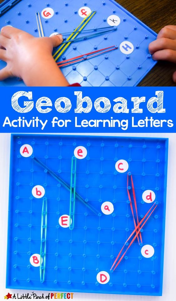 Strengthen little fingers while practicing letter recognition. Keep learning fresh and exciting with this awesome collection of letter activities for preschool! #howweelearn #abc #alphabet #alphabetactivities #letters #lettersounds #preschool