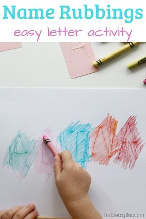 Create beautiful art while familiarizing your child of the letters in their name. Keep learning fresh and exciting with this awesome collection of letter activities for preschool! #howweelearn #abc #alphabet #alphabetactivities #letters #lettersounds #preschool