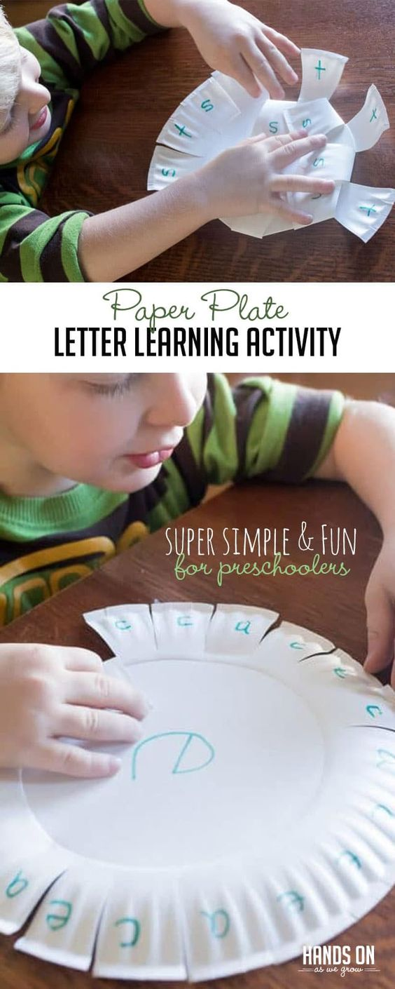 This fun, reusable letter learning activity can be used multiple times and taken on the go! Keep learning fresh and exciting with this awesome collection of letter activities for preschool! #howweelearn #abc #alphabet #alphabetactivities #letters #lettersounds #preschool