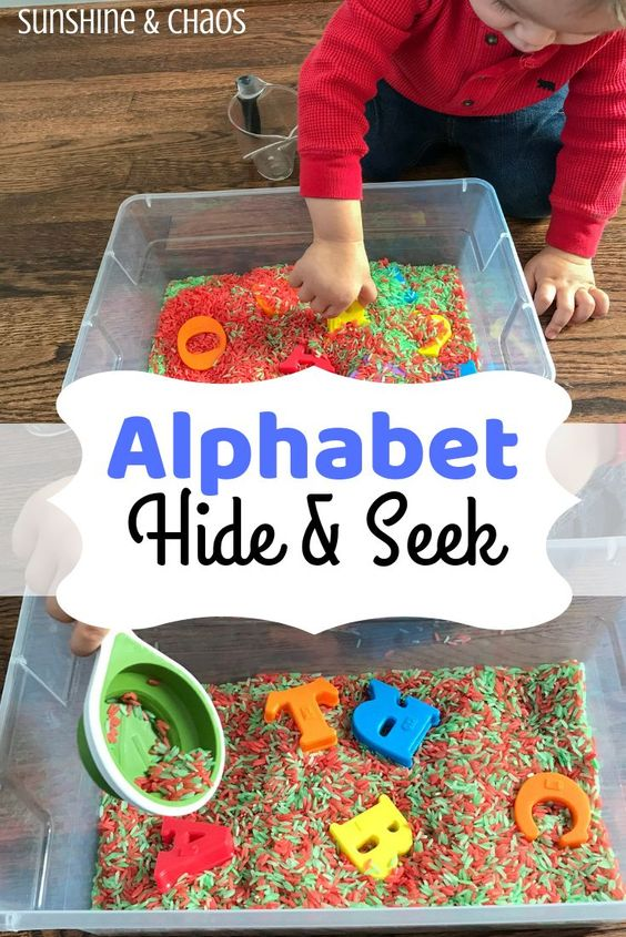 Add some sensory fun to your preschoolers alphabet recognition. Keep learning fresh and exciting with this awesome collection of letter activities for preschool! #howweelearn #abc #alphabet #alphabetactivities #letters #lettersounds #preschool