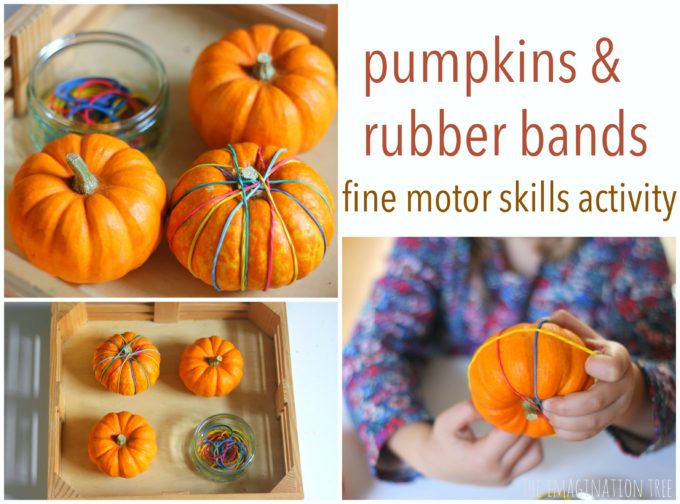 Strengthen fine motor skills and get a cute decorated mini pumpkin to boot! Here is a list of more pumpkin decorating ideas that toddlers, preschoolers and kids of all ages can create! #howweelearn #pumpkincarving #pumpkindecorating #jackolantern # halloween #kidsactivities