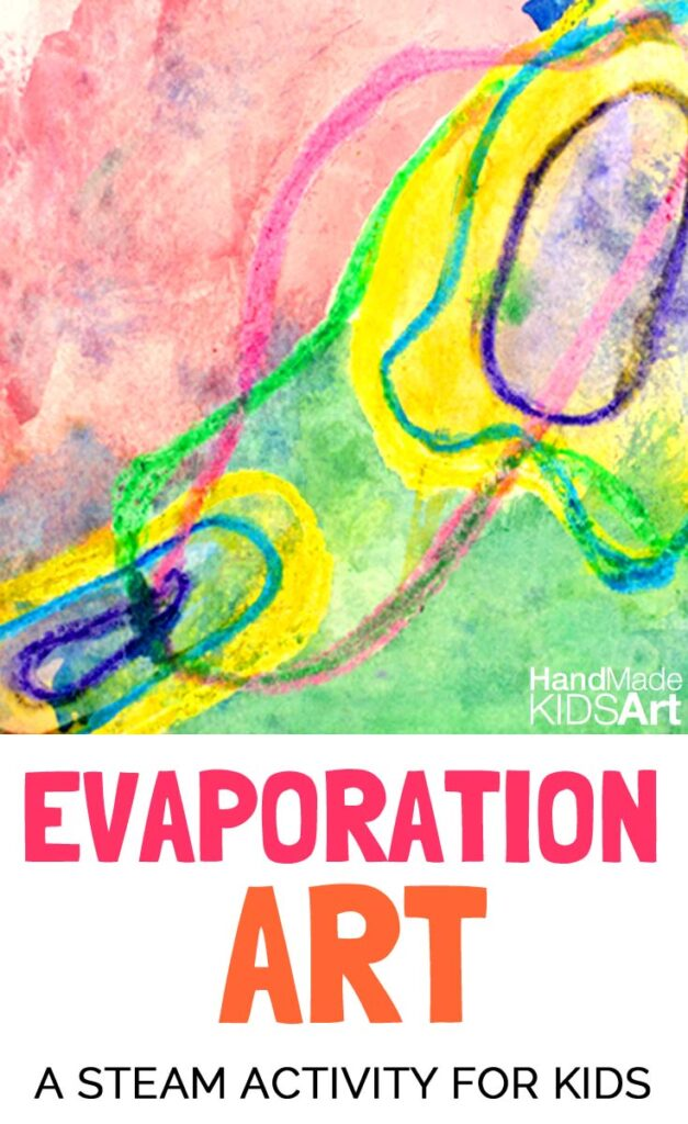 Many rich questions and discussions will come from this artistic investigation into evaporation. STEM and STEAM activities like this one are perfect for engaging children's natural curiosity. Here is a list of rich activities for toddlers, preschoolers and kids of all ages. #howweelearn #stem #steam #scienceforkids #learningactivities