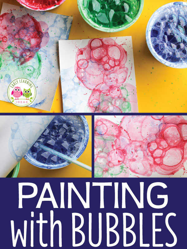 Who knew painting with bubbles could create such beautiful art? But how does it work? STEM and STEAM activities like this one are perfect for engaging children's natural curiosity. Here is a list of rich activities for toddlers, preschoolers and kids of all ages. #howweelearn #stem #steam #scienceforkids #learningactivities