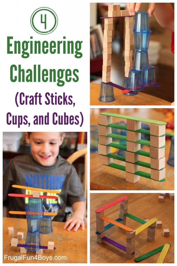 Tower building challenges with every day materials are the perfect way to explore concepts of engineering. STEM and STEAM activities like this one are perfect for engaging children's natural curiosity. Here is a list of rich activities for toddlers, preschoolers and kids of all ages. #howweelearn #stem #steam #scienceforkids #learningactivities