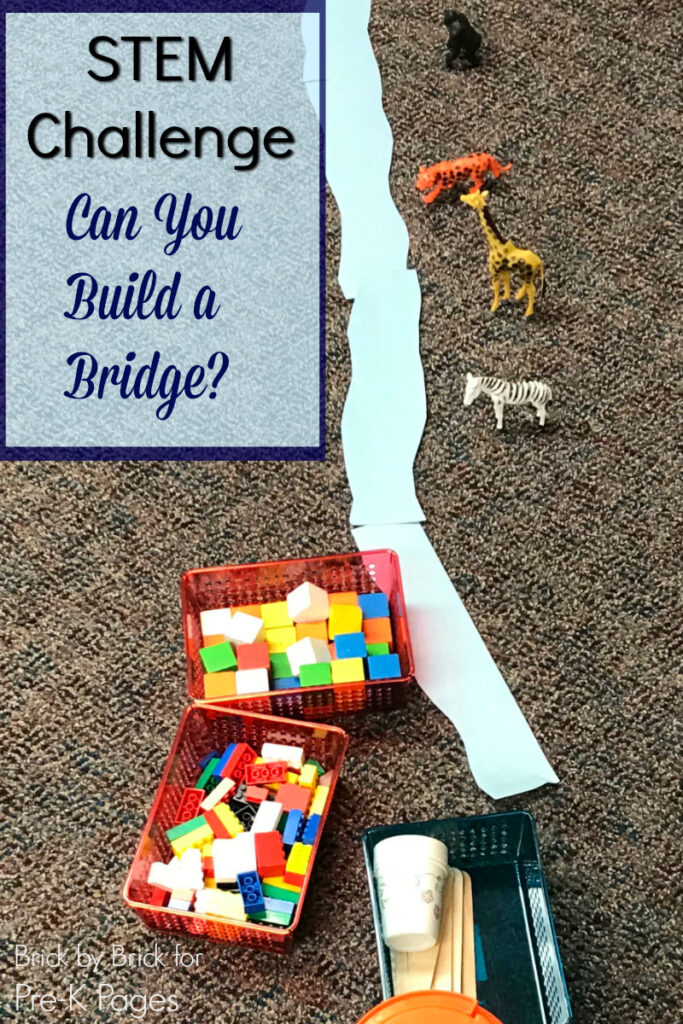 Challenge your kids to save their animals by building a bridge with LEGO and other materials. STEM and STEAM activities like this one are perfect for engaging children's natural curiosity. Here is a list of rich activities for toddlers, preschoolers and kids of all ages. #howweelearn #stem #steam #scienceforkids #learningactivities