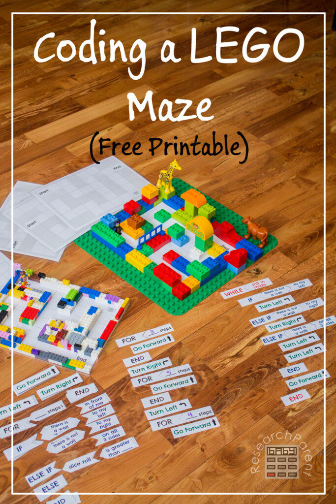 Building a LEGO maze is a stand alone amazing feat, but creating coding directions to get someone out? That's something else! STEM and STEAM activities like this one are perfect for engaging children's natural curiosity. Here is a list of rich activities for toddlers, preschoolers and kids of all ages. #howweelearn #stem #steam #scienceforkids #learningactivities