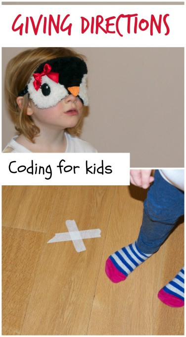 Communicating directions is an important skill in coding, and this activity is a perfect introduction! STEM and STEAM activities like this one are perfect for engaging children's natural curiosity. Here is a list of rich activities for toddlers, preschoolers and kids of all ages. #howweelearn #stem #steam #scienceforkids #learningactivities