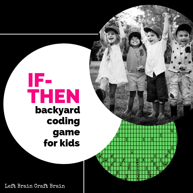 Explore the coding If-Then statement through a modified version of Simon Says. Don't be fooled: this game can get very complex! STEM and STEAM activities like this one are perfect for engaging children's natural curiosity. Here is a list of rich activities for toddlers, preschoolers and kids of all ages. #howweelearn #stem #steam #scienceforkids #learningactivities