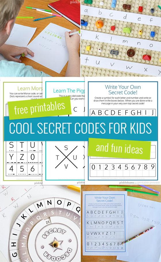 Using a secret code or cipher as part of a scavenger hunt adds mystery and great opportunities for learning! Not only are these activities thrilling, they keep kids active and encourage collaboration and problem solving.  Check out our massive list of ideas here! #howweelearn #scavengerhunt #kidsactivities #preschoolactivities