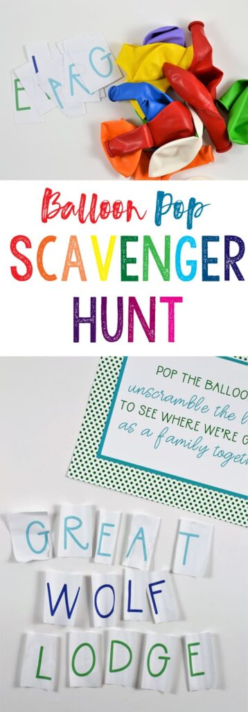 Add some pop to your scavenger hunt by hiding clues and items inside balloons! Not only are these activities thrilling, they keep kids active and encourage collaboration and problem solving.  Check out our massive list of ideas here! #howweelearn #scavengerhunt #kidsactivities #preschoolactivities