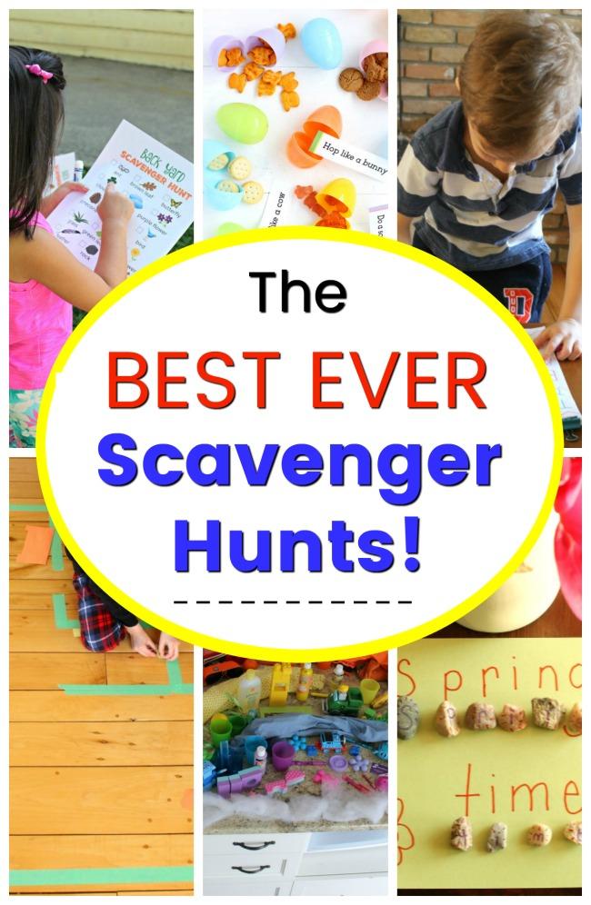 Brand New Children/'s Game Kids/' Scavenger Hunt In A Box