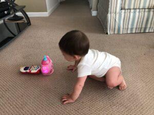 #howweelearn #crawling #grossmotor #activitiesforbaby #momtips #newmom