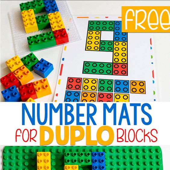 Your preschooler will be more familiar with number formation after making these awesome LEGO numbers! Here you will find more play-based number activities for preschoolers to keep them practicing their counting, number recognition and one-to-one correspondence. #howweelearn #numbers #numbersense #numeracy #counting
