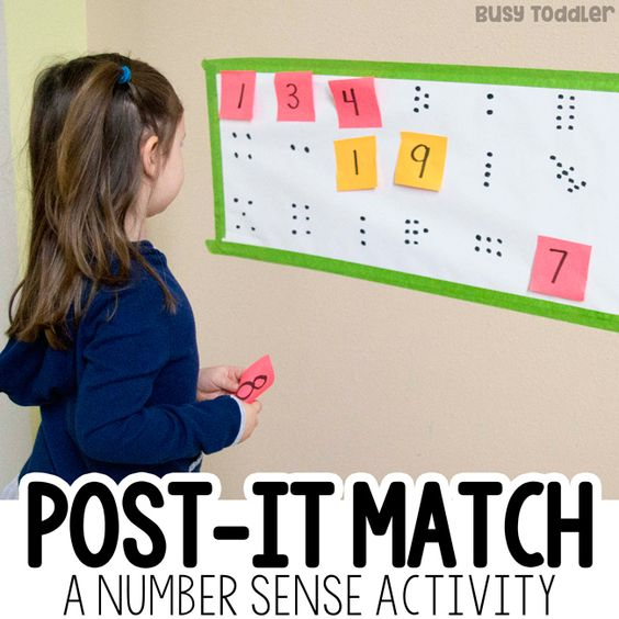 This easy, low-prep activity helps kids increase their number sense. Here you will find more play-based number activities for preschoolers to keep them practicing their counting, number recognition and one-to-one correspondence. #howweelearn #numbers #numbersense #numeracy #counting