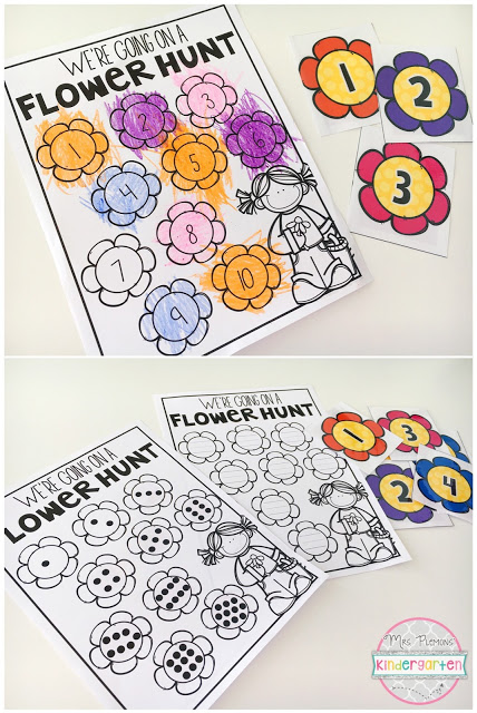 Number scavenger hunts are always a fantastic way to get kiddos moving and learning. Here you will find more play-based number activities for preschoolers to keep them practicing their counting, number recognition and one-to-one correspondence. #howweelearn #numbers #numbersense #numeracy #counting