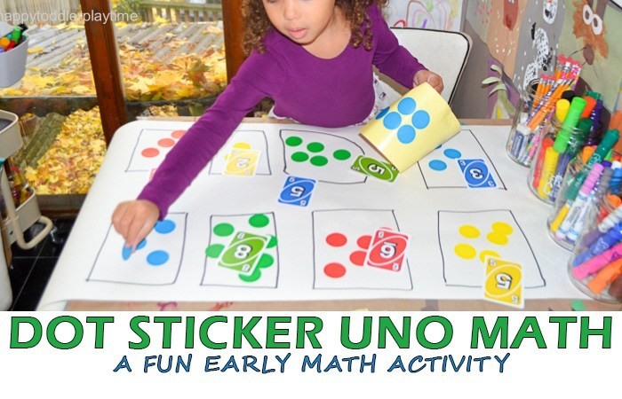 There are so many wonderful number games you can play with UNO cards. Here you will find more play-based number activities for preschoolers to keep them practicing their counting, number recognition and one-to-one correspondence. #howweelearn #numbers #numbersense #numeracy #counting