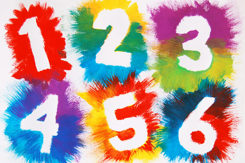 Take a creative break and make some beautiful exploding numbers with your child! Great to use for birthdays or homemade number cards. Here you will find more play-based number activities for preschoolers to keep them practicing their counting, number recognition and one-to-one correspondence. #howweelearn #numbers #numbersense #numeracy #counting