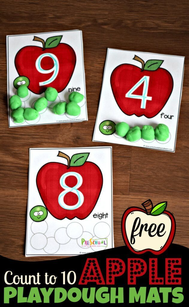 This adorable free printable allows your child to practice writing numbers and showing their quantity. Here you will find more play-based number activities for preschoolers to keep them practicing their counting, number recognition and one-to-one correspondence. #howweelearn #numbers #numbersense #numeracy #counting