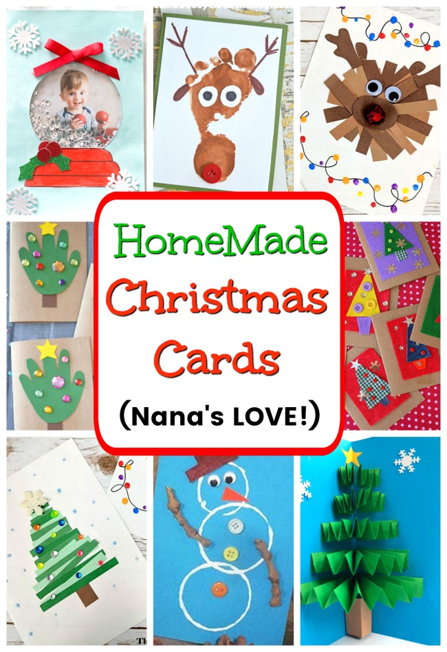 Christmas Cards For Kids To Make How