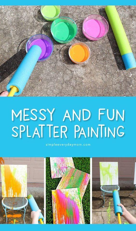 #howweelearn #paintingideasforkids #kidscrafts #artsandcraftsforkids #messyart