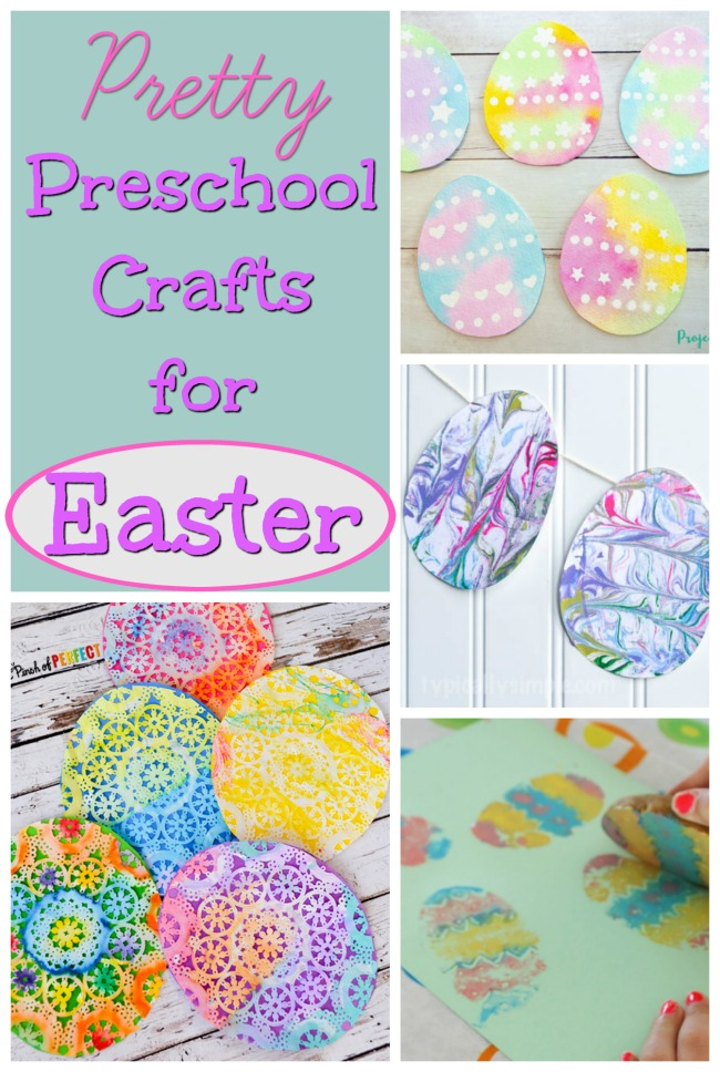 Beautiful Easter Crafts for Preschoolers