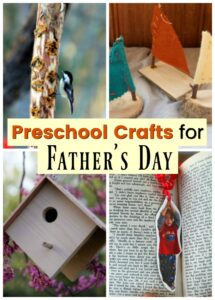 Great Father's Day crafts for preschool!