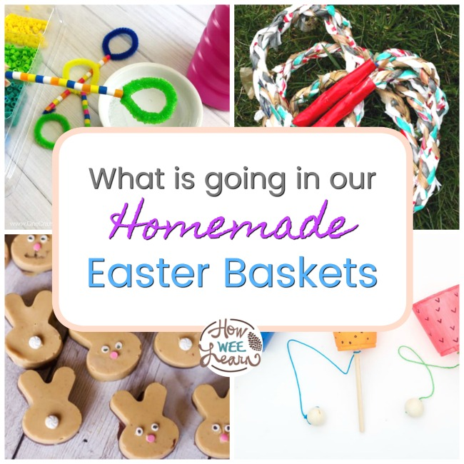 Homemade Easter Basket Ideas How Wee Learn