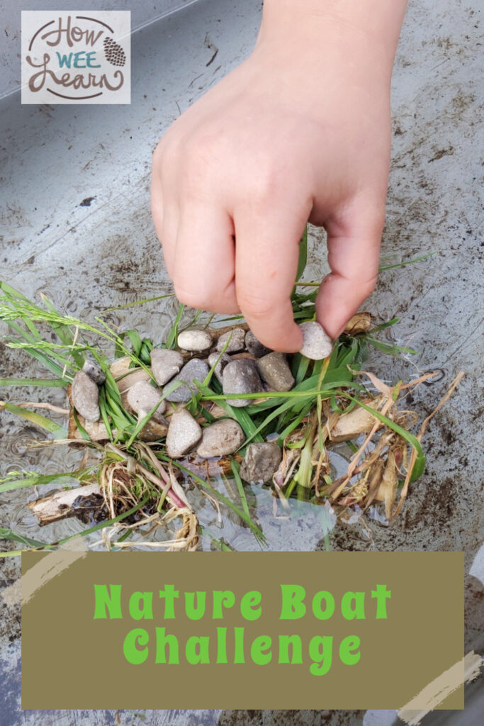 Stem Challenge Nature Boats How Wee Learn
