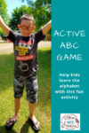 So much fun for preschoolers - an active alphabet activity! The kids loved making letters and spelling out their names with their bodies. Great for first learning letter formation.