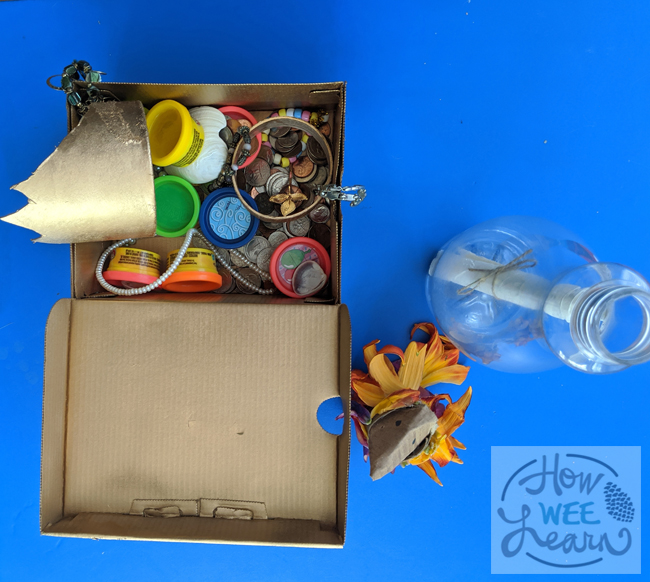 Recycled Material Crafts for Preschool Pirate Play