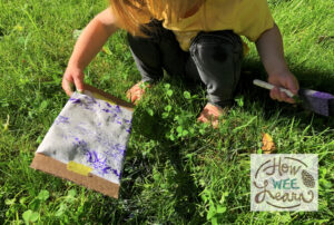 outdoor nature prints for kids