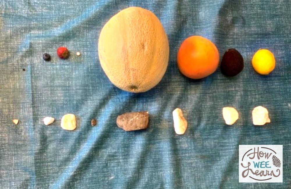 solar system activity for kindergarten