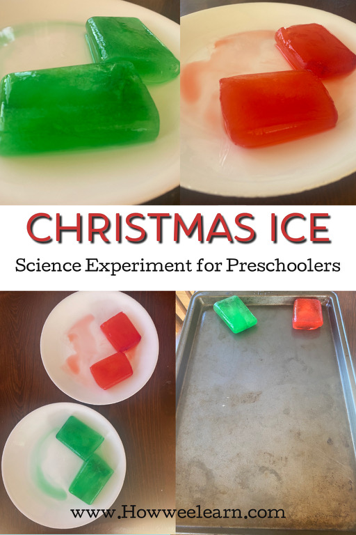 This Christmas science experiment was so much fun for the kids