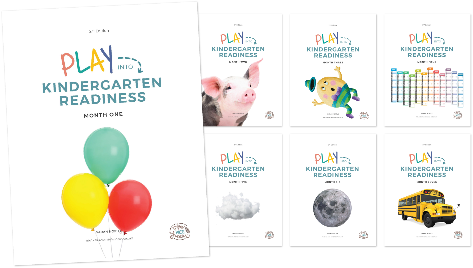 Play into Kindergarten Readiness Cover Pages