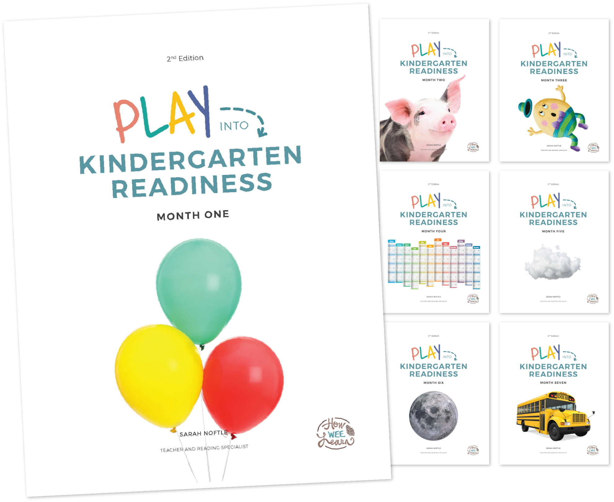 Play into Kindergarten Readiness Covers