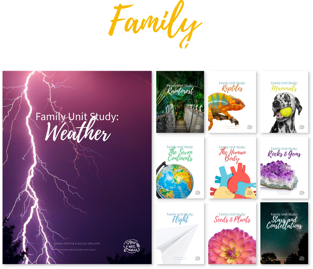 Family Unit Studies Mockup Main