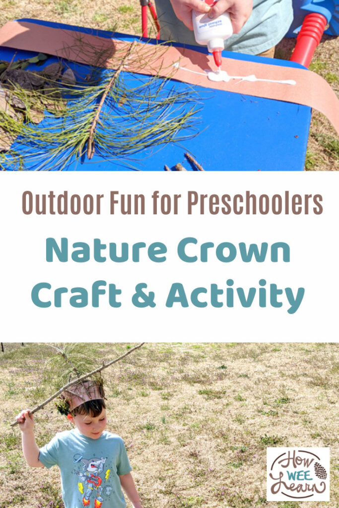 We had so much fun with this nature crown craft. My preschooler loved it and the final tea party was the best.