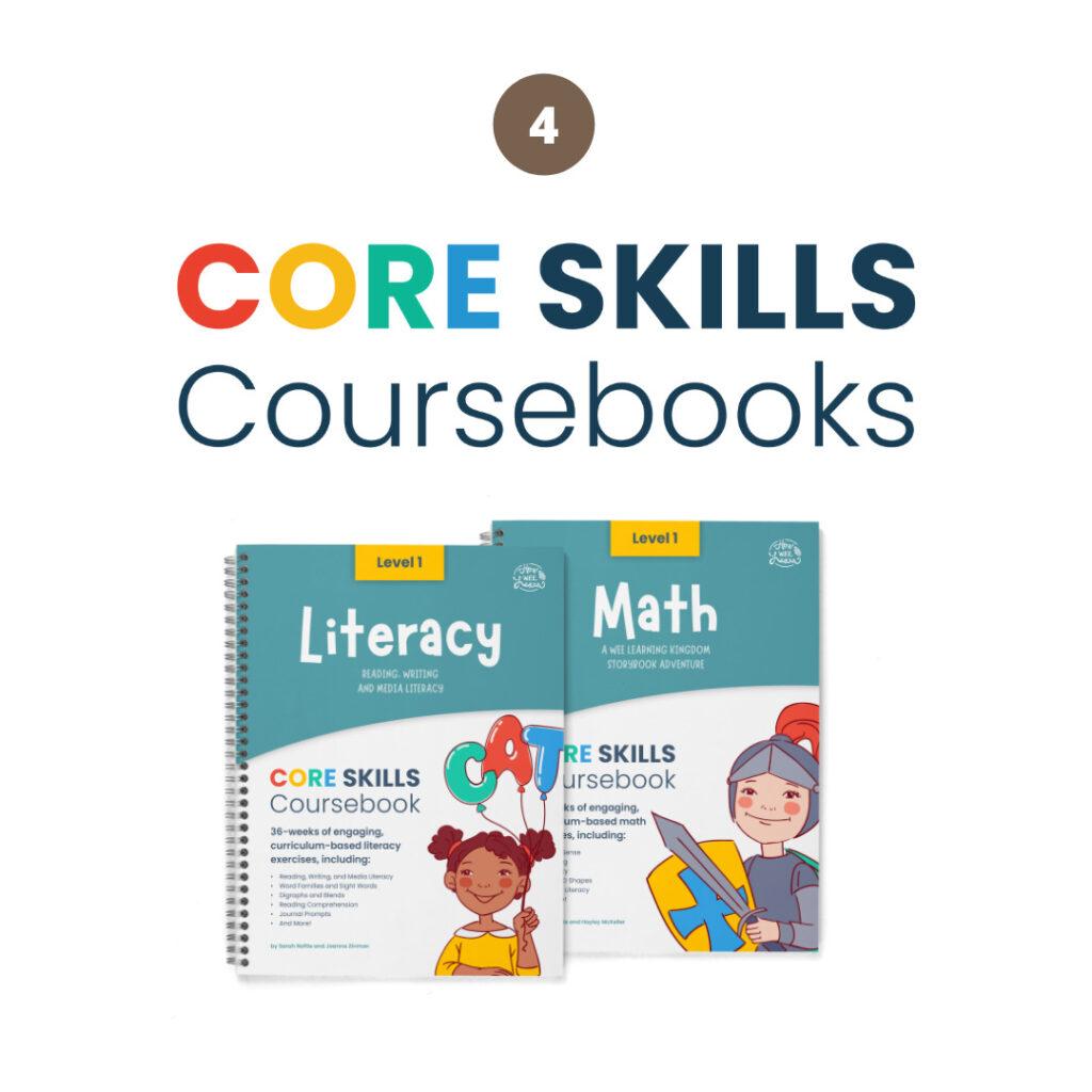 Step 4: Core Skills Coursebooks