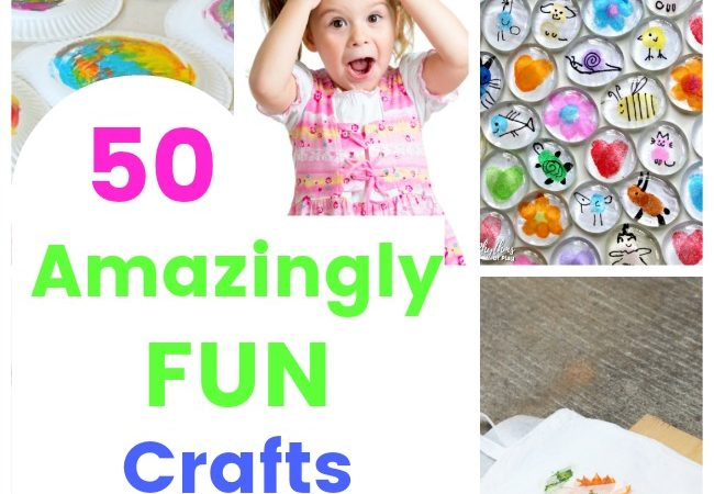 Amazingly fun crafts for kids! These crafts are simple and AWESOME #crafts #kids #fun